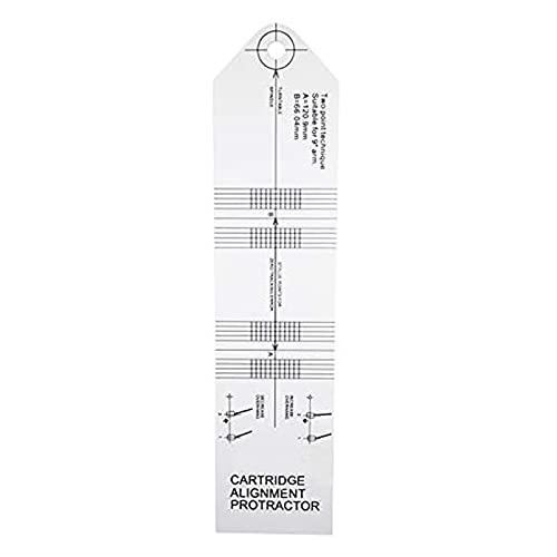 Cartridge Alignment Protractor Vinyl Calibration Turntable Tool Record Phonograph Accessories Adjustment Tool