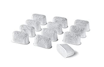 12-Pack Replacement Charcoal Water Filters for Use with Cuisinart coffee machines