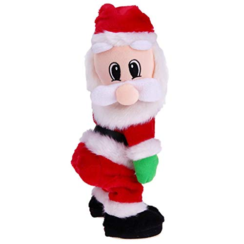 SODIAL Christmas Gift Dancing Electric Musical Toy Santa Claus Doll Twerking Singing