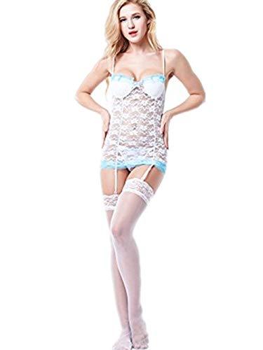 La Moda de Las Mujeres de la atracción Sexual de Encaje Perspectiva con...