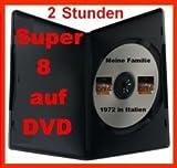 2 Stunden SUPER 8 auf DVD Projektor DIGITALISIEREN ÜBERSPIELEN KOPIEREN