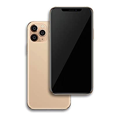 Non-Working Replica 1:1 Phone Dummy Display Phone Model for Phone 11 Pro Max 6.5 Fake Model Toy (11 Promax Gold Blackscreen) by FufoneUS