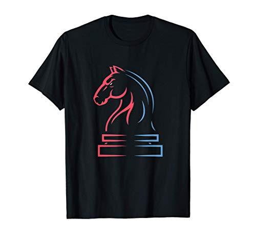 Pieza de ajedrez Caballo vintage para un jugador de ajedrez Camiseta
