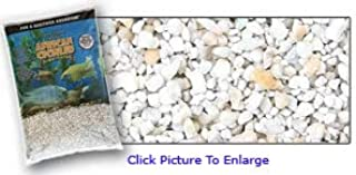 Pure Water Pebbles African Cichlid Substrate Rift Lake Gravel 20 LB- Dry- Natural Rift Lake Gravel