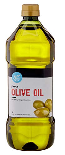Amazon Brand - Happy Belly Pure Olive Oil, Mediterranean Blend, 51 Fl Oz