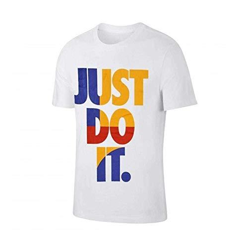 NIKE Sportswear Just Do It Camiseta Hombre - algodón Talla: XL