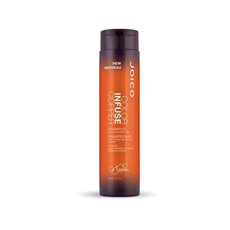 窓を洗うオリエンタル限られたJoico Color Infuse Copper Shampoo 300ml (Pack of 6) - ジョイコ色は、銅シャンプー300ミリリットルを注入します x6 [並行輸入品]