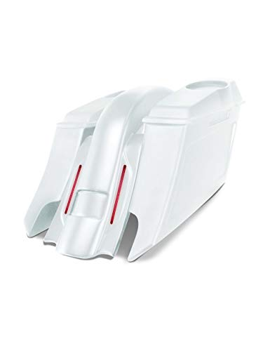 Best Review Of Harley Davidson 6 down and 9 out angle saddlebags and Replacement LED fender for 98...