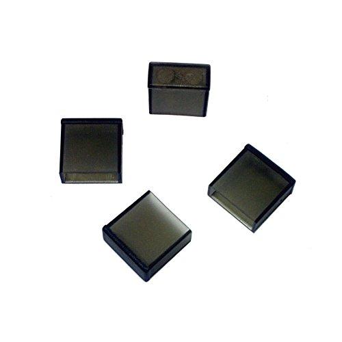 monofive USB A オス コネクタ用 保護カバーキャップ 12個入り 黒 半透明 MF-USBC-12B
