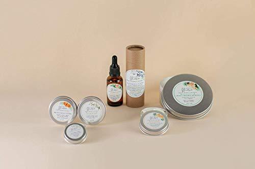 PACK COMPLETO DE CUIDADO CORPORAL - Crema corporal, aceite botánico, crema de manos, desodorante, multibálsamo, balsamo labial - 100% ecologico y natural
