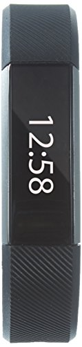 Fitbit Alta Fitness Tracker, Silver/Black, Large (International Version)