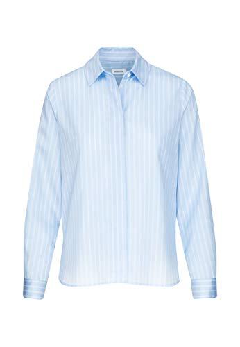 Seidensticker Damen Fashion 1/1 Bluse, Hellblau (11), 42