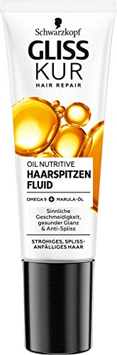 Schwarzkopf Gliss Kur Oil Nutritive Anti Spliss Haarspitzenfluid, 1er Pack (1 x 50ml)