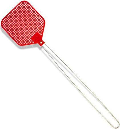 Blim Tapette avec poignée de Fer, Rouge, 43 x 9 cm