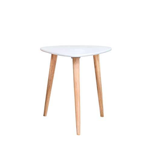 SZQ-Table Basse Table basse en bois massif Triangle Durable Stable Petite table Salon Balcon Baie Fenêtre Chambre Table à thé Table de sofa (Size : 50 * 50 * 50CM)