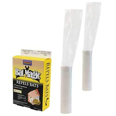 BestNest Bat Exclusion Tubes with Bat Magic Repellent Granules