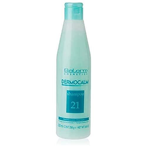 Salerm Cosmetics Dermocalm Champú - 250 ml, Transparente