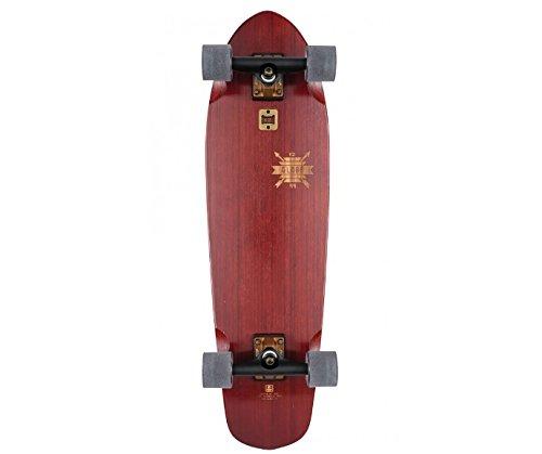 Globe Cruiserboard Big Blazer 32 Skateboard, Cherry/Bamboo