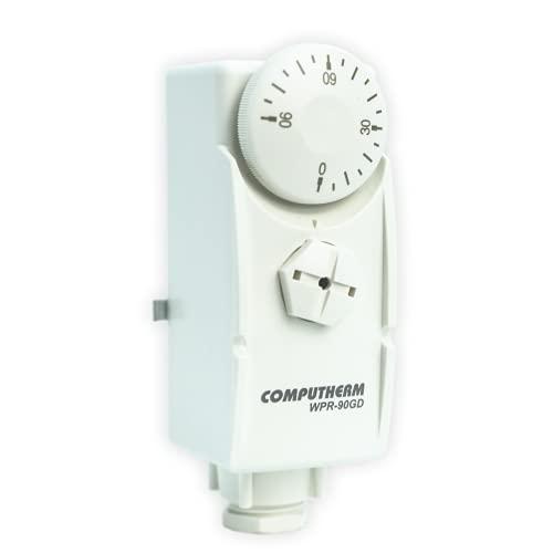 COMPUTHERM Termostato de Contacto WPR-90GD, para Sistemas de calefacción y refrigeración, con...