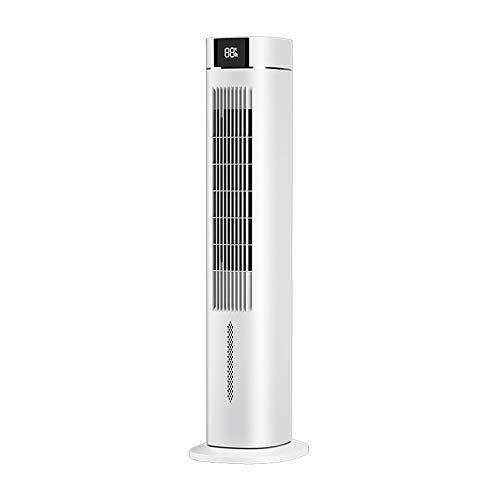 Ventilador de aire acondicionado, enfriador de aire de torre con oscilación, motor ultrapotente de 55 W, control remoto, temporizador de 8 horas y 3 modos, para el hogar y la oficina/A / 25x31