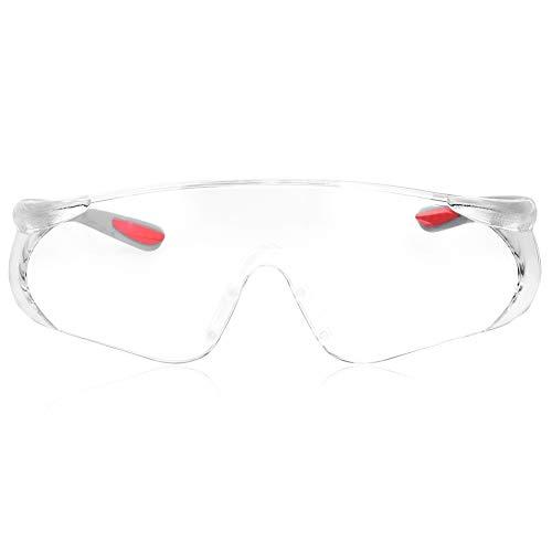 Gafas, gafas antirrayas, almohadillas nasales suaves con dioptrías óptimas Protección del hueso de la ceja Diseño ultraligero para mecanizado Entorno de trabajo general