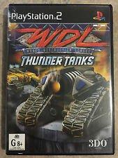 World Destruction League: Thunder Tanks para PS2