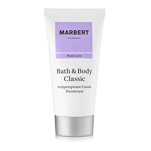 Marbert Bath & Body Classic Deodorantcreme Anti Perspirant, 1er Pack (1 x 50 ml)