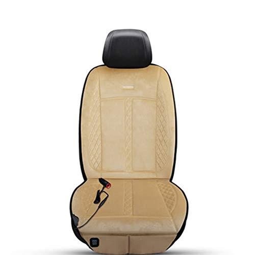 Coussin chauffant de voiture hiver siège unique siège universel coussin chauffant électrique coussin chauffant pour voiture 12V / 24V (Couleur : C-24V)