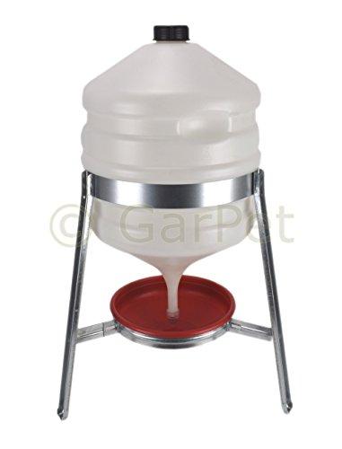 30 Liter Kunststoff Automatische Geflügel Wasser Siphon Hühner Vorrats Tränke