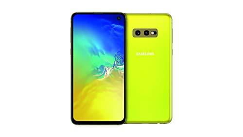 Samsung Galaxy S10e 128 GB Dual SIM, 128 GB interner Speicher, 6 GB RAM, Canary Yellow, [Standard] Französische Version