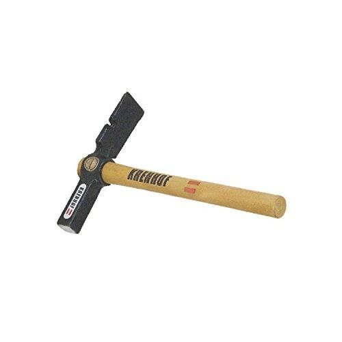 KRENHOF 853S05 Maurerhammer mit Holzstiel und Nagelzieher 500 g