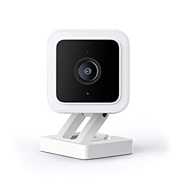 WYZE Cam v3 with Color Night Vision Wired 1080p HD Indoor/Outdoor Video Camera 2-Way Audio Works with Alexa Google Assistant and IFTTT