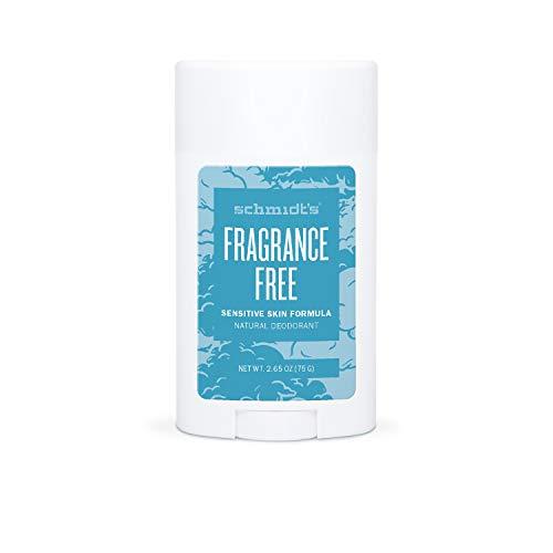 Schmidts - Desodorante Natural en Barra para Pieles Sensibles Sin Perfume Vegano - 75 g
