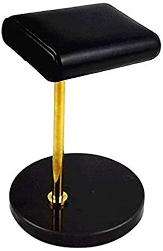 RTUTUR Barra de mármol Negro Reloj de Reloj Golden Metal Rod Watch Pantalla Pantalla Pulsera Pantalla Soporte Soporte Soporte Soporte Soporte Soporte