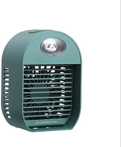 condizionatore d'aria appartamento, Condizionatori d'aria mobile, dispositivo di raffreddamento ad aria, 2021 nuovo desktop mini aria condizionata, raffreddato ad acqua USB Desktop Humidification Spra