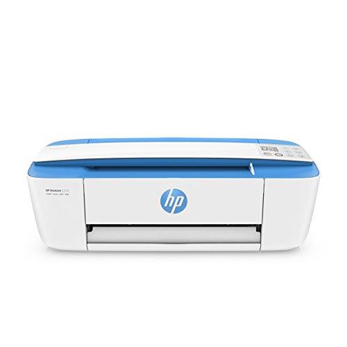 HP DeskJet 3720 Stampante Wireless All-In-One, Funzioni Stampa/Copia/Scansione, 4800x1200, Blu