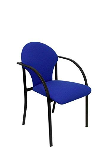 Piqueras Y Crespo Amsterdam 2.0 - Silla fija tapizada, color azul