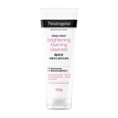 Gel nettoyant Neutrogena Deep Clean pour le visage - Nettoyage en profondeur - 100 g