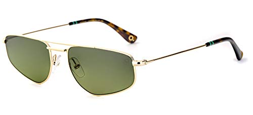 Sonnenbrillen Etnia Barcelona MOJAVE SUN GOLD/GREEN SHADED 55/17/145 Unisex