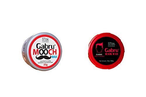 ST.bir Gabru Hair and Mooch Wax Combo