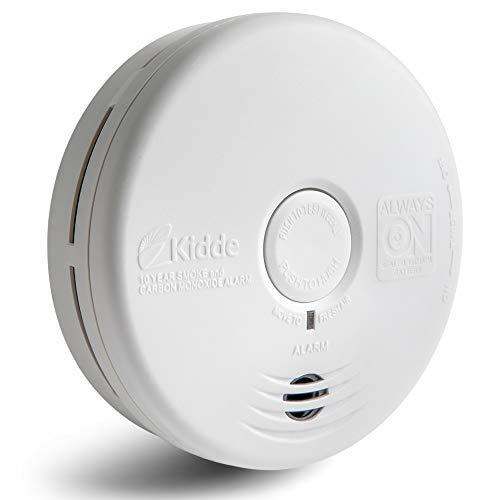 Kidde Smoke & Carbon Monoxide Detector, Combination Smoke & CO Alarm with Lithium Battery, Replacement Alert