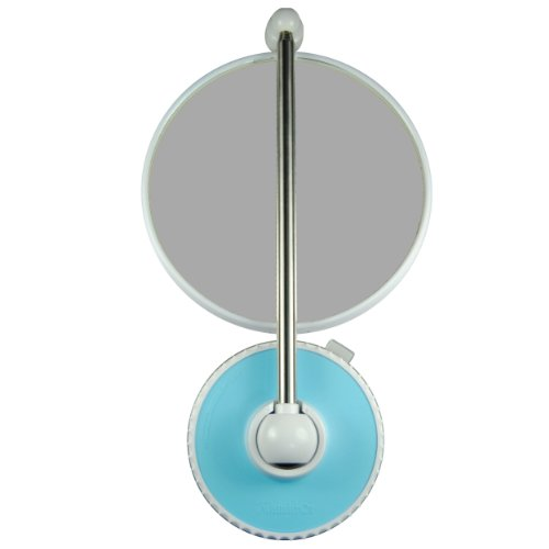 TWISTMIRROR Miroir Intelligent grossissant 10x Couleur: Turquoise