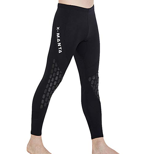Buy-To Herencombinatie, broek, 1,5 mm, zwart, neopreen, duiken, Aviron, zeildoek, zwembroek, warm, leggings voor surfen, Rashguard
