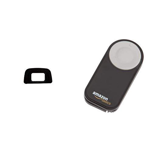 Nikon DK-20 Augenmuschel für versch. Nikon Digitalkameras & Amazon Basics IR-Fernauslöser für Nikon SLR-Digitalkameras