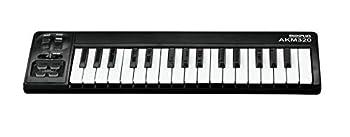 MIDIPLUS AKM320 USB MIDI Keyboard Controller Black 32-key
