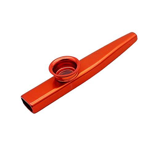 Ballylelly Metall für Kazoos Musikinstrumente Flöten Membran Mund Kazoos Musikinstrumente Guter Begleiter für Gitarre