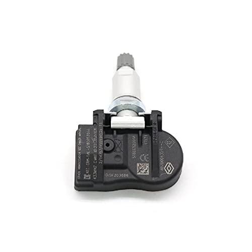 HUIHUI Store TPMS Sistema de Monitor de Sensor de presión de neumáticos 407000435R Ajuste for Renault Laguna Megane III Van Fluence Scenic Zoe Latitude 433MHz (Color : 1 Piece)