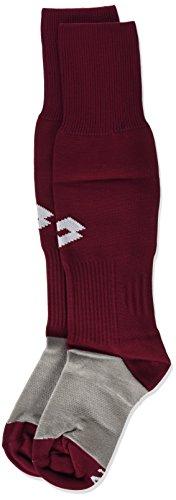 Lotto Herren Training Socks Long Logo, rot - Red/White/Gran, 34