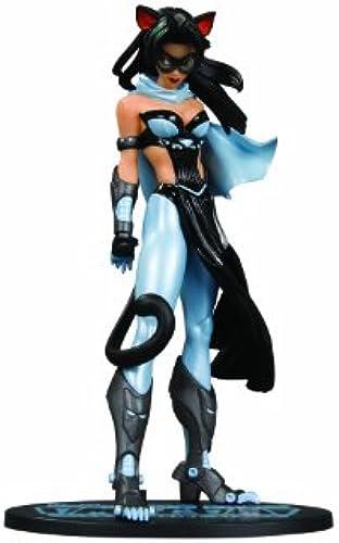 DC Comics Ame-Comi PVC Statue Catwoman Version 2 Blau Suit Variant 21 cm