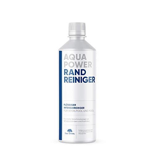 AQUA POWER Randreiniger | Spezial Randreiniger für alle Pool und Whirlpool Auskleidungen - Abdeckungen und Planen | Pool Reiniger | hochwirksames Konzentrat - 40 Fach verdünnbar